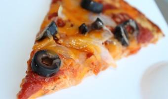 Cauliflower Cheese Pizza