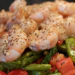 Lemon-Garlic Shrimp and Veggies